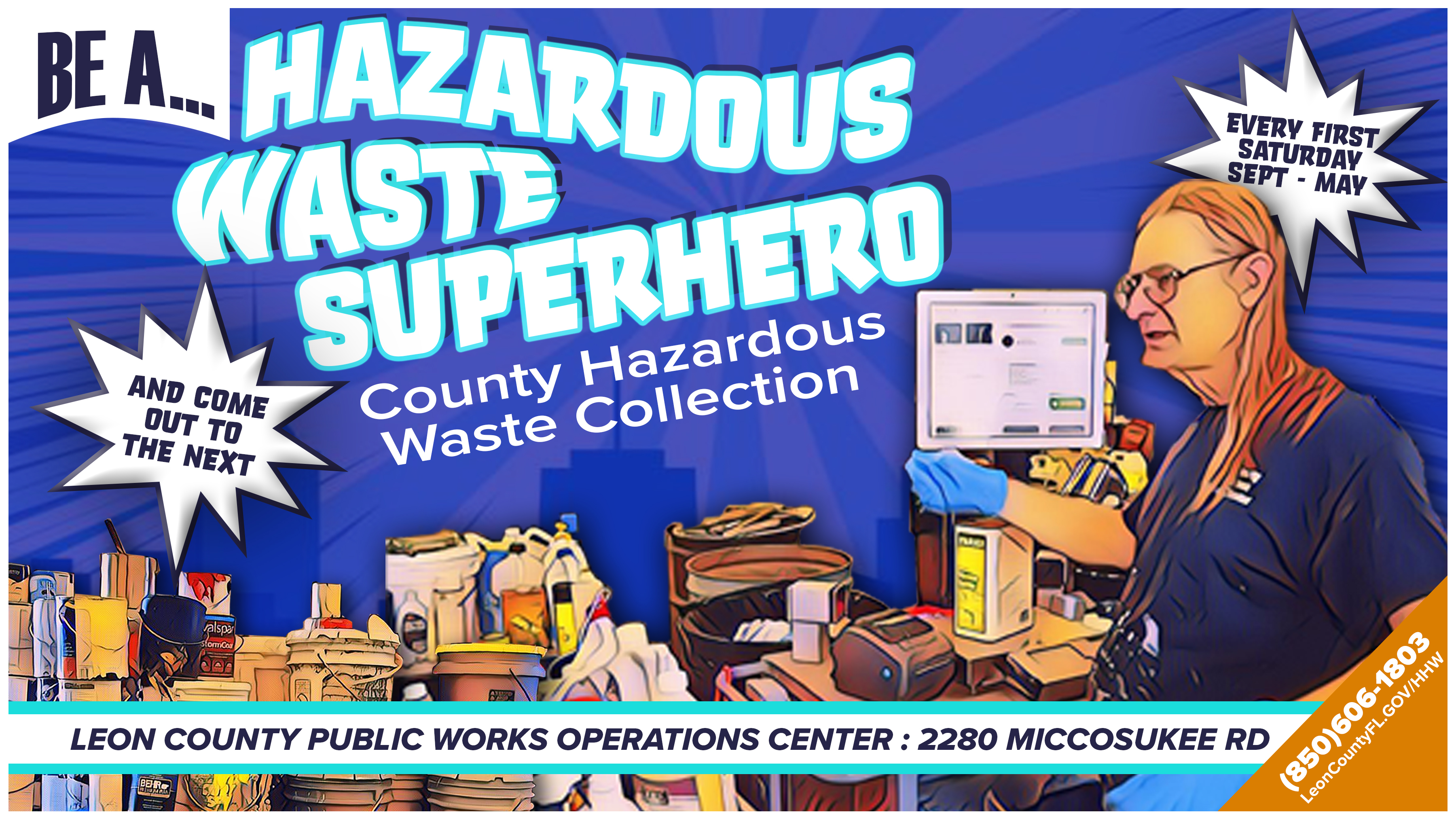 Garbage Pickup Leon County Christmas 2020 Leon County to Host Household Hazardous Waste and Electronics